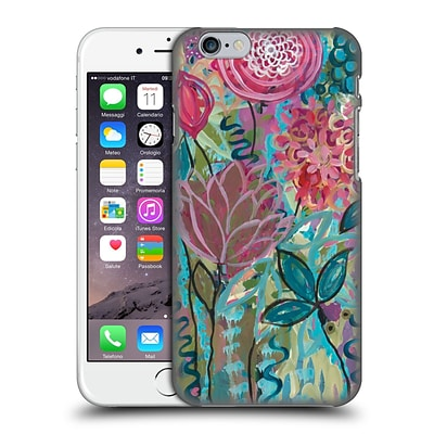 OFFICIAL CARRIE SCHMITT FLORALS Persistence Hard Back Case for Apple iPhone 6 / 6s