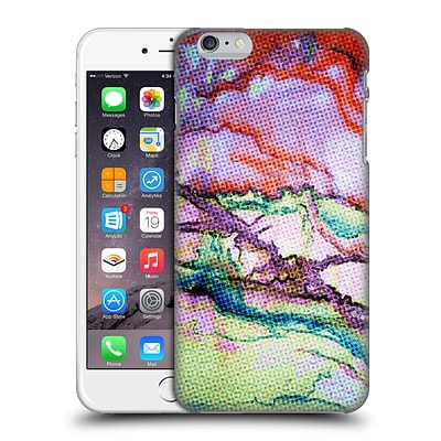 OFFICIAL MAGDALENA HRISTOVA ABSTRACT COLOURS Purple Hard Back Case for Apple iPhone 6 Plus / 6s Plus