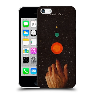 OFFICIAL FRANK MOTH SPACE Contact Hard Back Case for Apple iPhone 5c