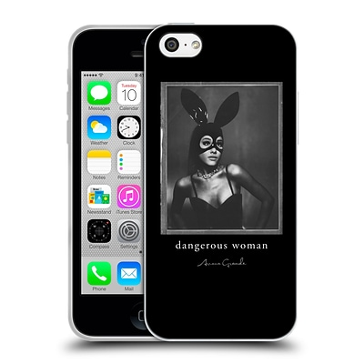 OFFICIAL ARIANA GRANDE DANGEROUS WOMAN Bunny Mask Soft Gel Case for Apple iPhone 5c