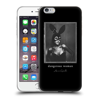 OFFICIAL ARIANA GRANDE DANGEROUS WOMAN Bunny Mask Soft Gel Case for Apple iPhone 6 Plus / 6s Plus