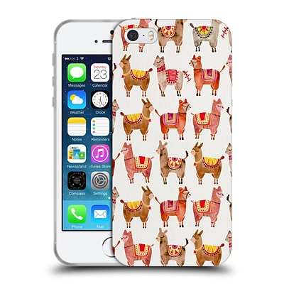 OFFICIAL CAT COQUILLETTE ANIMALS Alpacas Soft Gel Case for Apple iPhone 5 / 5s / SE