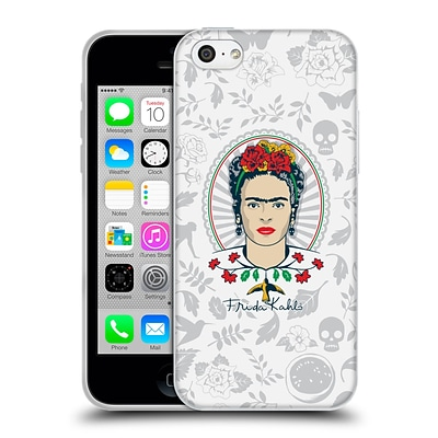 OFFICIAL FRIDA KAHLO ICONS Portrait Soft Gel Case for Apple iPhone 5c