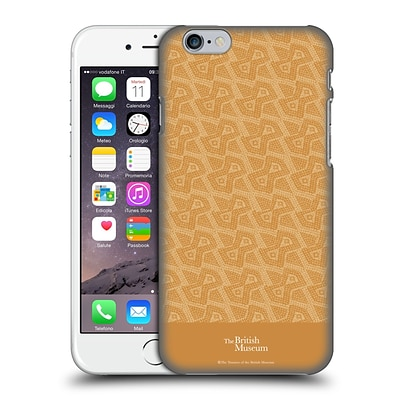 OFFICIAL BRITISH MUSEUM DECORATION AND CEREMONY Slanted Pattern Hard Back Case for Apple iPhone 6 / 6s