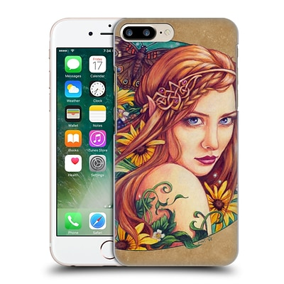 OFFICIAL JANE STARR WEILS FAIRIES Wood Hard Back Case for Apple iPhone 7 Plus