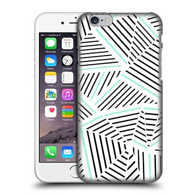 OFFICIAL PROJECT M ABSTRACT LINEAR Mint Hard Back Case for Apple iPhone 6 / 6s