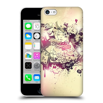 OFFICIAL PETE AEIKO HARRISON TYPOGRAPHY Stoned Hard Back Case for Apple iPhone 5c