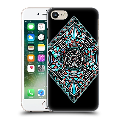OFFICIAL POM GRAPHIC DESIGN PATTERNS Geo Glass Hard Back Case for Apple iPhone 7