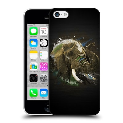 OFFICIAL ARON ART ANIMALS Elephant Hard Back Case for Apple iPhone 5c