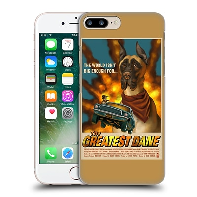 OFFICIAL LANTERN PRESS DOG COLLECTION Greatest Dane Hard Back Case for Apple iPhone 7 Plus