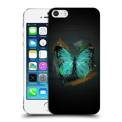 OFFICIAL ARON ART ANIMALS Butterfly Hard Back Case for Apple iPhone 5 / 5s / SE