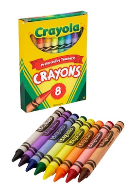 3 Packs of 24 Crayons Assorted Colors BIC Kids Crayons