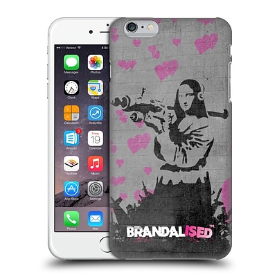 OFFICIAL BRANDALISED BANKSY VANDALS Mona Launcher Hard Back Case for Apple iPhone 6 Plus / 6s Plus