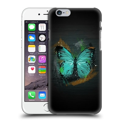 OFFICIAL ARON ART ANIMALS Butterfly Hard Back Case for Apple iPhone 6 / 6s