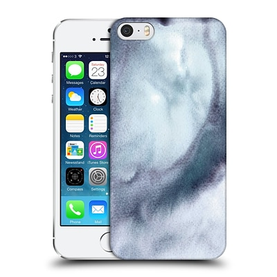 OFFICIAL JULIEN CORSAC MISSAIRE ABSTRACT 2 Marbled Milk Purple Grey Hard Back Case for Apple iPhone 5 / 5s / SE