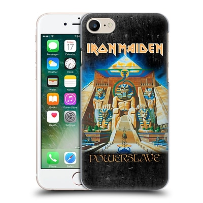 OFFICIAL IRON MAIDEN ALBUM COVERS Powerslave Hard Back Case for Apple iPhone 7