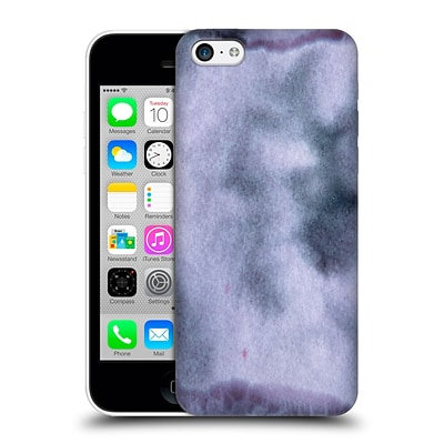 OFFICIAL JULIEN CORSAC MISSAIRE ABSTRACT 2 Marbled Milk Shades of Purple Hard Back Case for Apple iPhone 5c