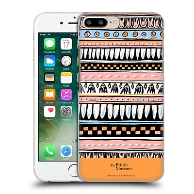 OFFICIAL BRITISH MUSEUM ANCIENT EGYPT Pink Egyptian Pattern Hard Back Case for Apple iPhone 7 Plus