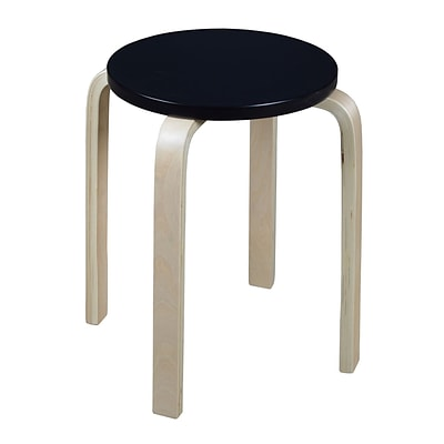 Niche Mia Bentwood Stool- Natural/Black (2010NTBK)