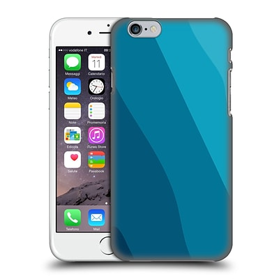 OFFICIAL MAGDALENA HRISTOVA CLEAN LINES 2 Blue 3 Hard Back Case for Apple iPhone 6 / 6s