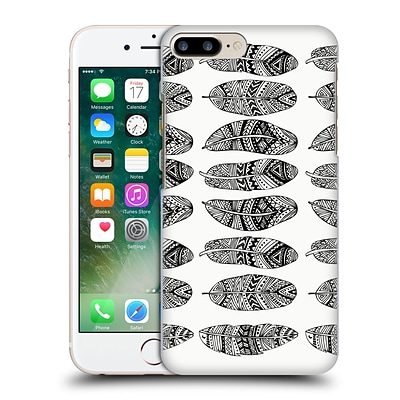 OFFICIAL POM GRAPHIC DESIGN PATTERNS Wild Feathers Hard Back Case for Apple iPhone 7 Plus