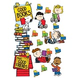 Eureka Peanuts Reading All-In-One Door Decor Kit, 32/Pack (EU-849315)