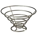 Spectrum® Euro Large Tabletop Fruit Bowl, Satin Nickel (46978)