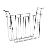 Spectrum® Euro Magazine Basket, Chrome (59770)