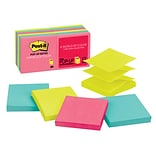Post-it® Pop-up Notes, 3 x 3 Cape Town Collection, 90 Sheets/Pad, 12 Pads/Pack (R330-12AN)