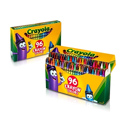 Crayola Crayons, Assorted Colors, 96/Box
