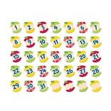 Creative Teaching Press, Hexafun Apples Calendar Days, 5.75 x 3.75, Assorted Colors (CTP6895)