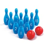Learning Advantage, Number Skittles, 5+, Blue 12/set (CTU26300)