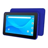 Ematic EGQ380 7 Tablet, WiFi, 1GB RAM, 16GB, Android 8.1 (Go Edition), Blue (EGQ380BU)