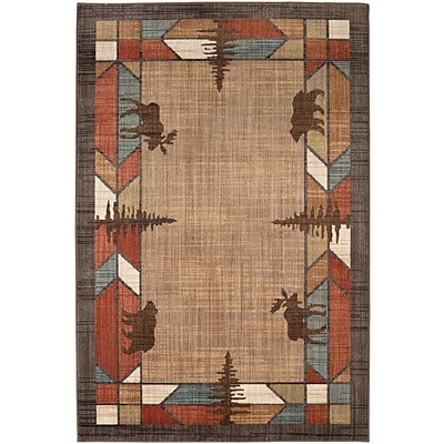 Mohawk Home Destinations Butte Multi Rug (086093555610)