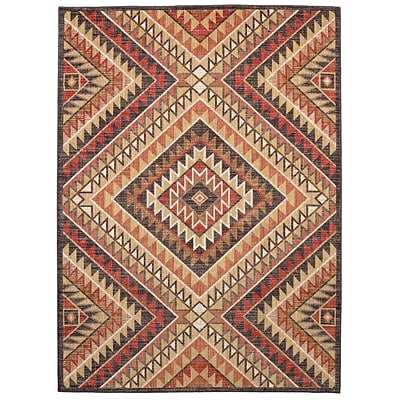 Mohawk Home Destinations South Pass Gold Rug (086093556693)