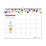 2020-2021 Blue Sky 12 x 15 Wall Calendar, Ampersand Dots, Multicolor (107947-A21)