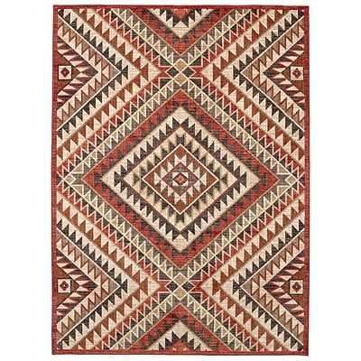 Mohawk Home Destinations South Pass Charcoal Rug (086093556730)