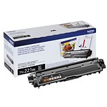 Brother TN-221 Black Toner Cartridge, Standard