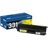 Brother TN-331Y Yellow Toner Cartridge, Standard