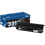 Brother TN-331BK Black Toner Cartridge, Standard