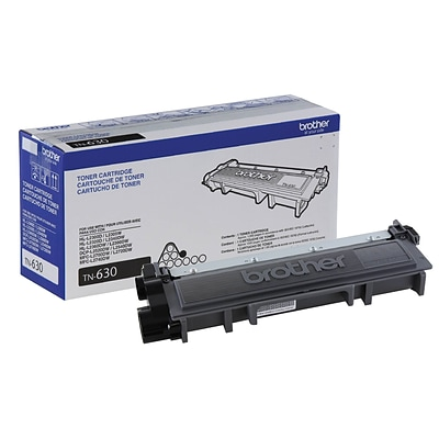 Brother TN-630 Black Toner Cartridge, Standard Yield
