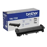 Brother TN-730 Black Toner Cartridge, Standard