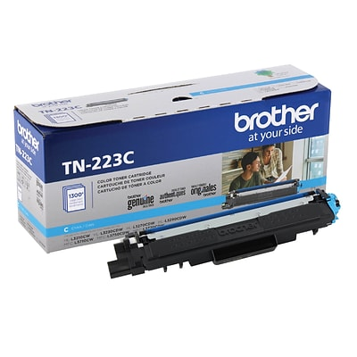 Brother TN-223C Cyan Toner Cartridge, Standard
