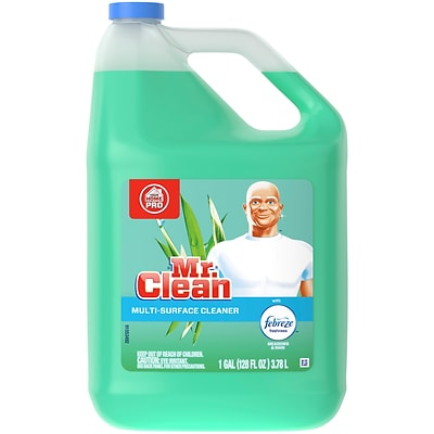 Mr. Clean Home Pro All-Purpose Cleaner, Febreze Meadows & Rain, 128 Oz. (23124)