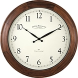 FirsTime 16 Walnut Garrison Wall Clock (50068)