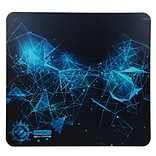 ENHANCE Extended Gaming Mouse Pad w/ Hard ABS Plastic Tracking Surface, Non-Slip Rubber, Black and B