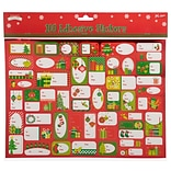 JAM Paper To/From Christmas Gift Tag Stickers, Under The Tree, 100/Pack (249734130)