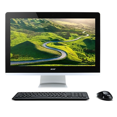 Acer Aspire Z3-715 23.8 1920x1080 Touchscreen All-in-One, Intel Core i7-7700T, 16GB RAM, 2TB HDD, Black