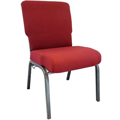 Advantage 20.5 Burgundy Church Chair Fully Assembled, Pack of 20 (PCMW-100-20)