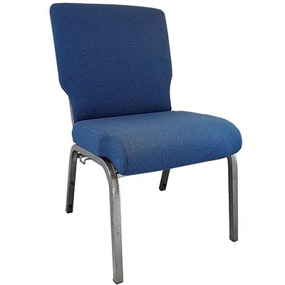 Advantage 20.5 Navy Blue Church Chair Fully Assembled, Pack of 20 (PCMW-101-20)